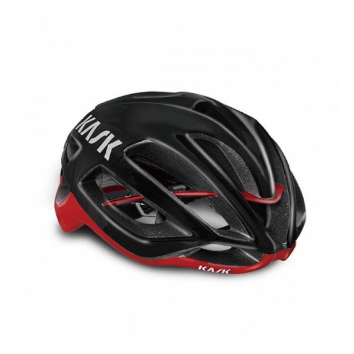 KASK(カスク)2019モデル PROTONE ブラック/レッド サイズM ヘルメット