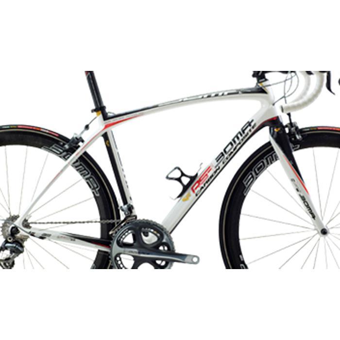 BOMA(ボーマ) RS-I アールエス-アイ フレームセットホワイト/カーボン/レッド サイズL-520【ロードバイク】【自転車】【05P02Aug14】