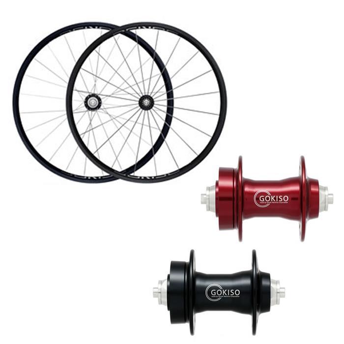 GOKISO (ゴキソ) GD2 ディスクロード用 クリンチャー シマノ用 ホイールセット 24mm 【自転車】【ロードバイク】