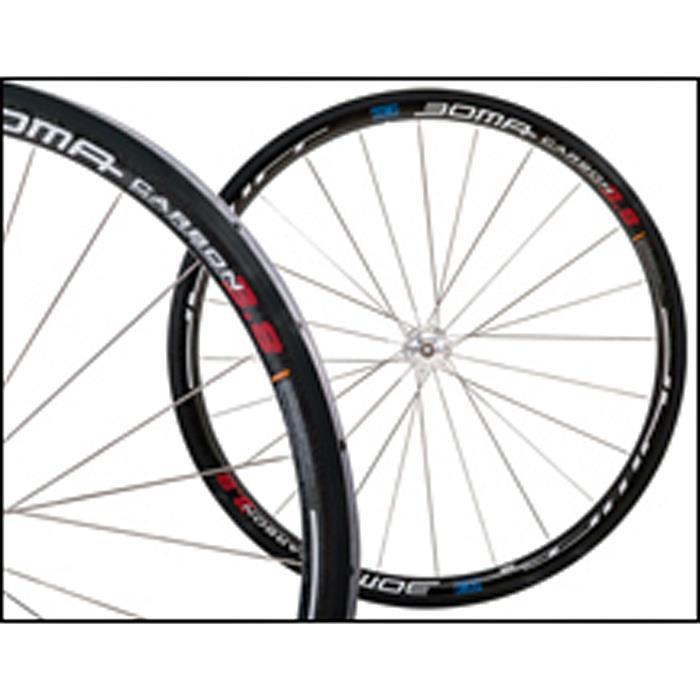BOMA(ボーマ) TH-10C カーボン ホイールセット チューブラー シマノ用 【自転車】
