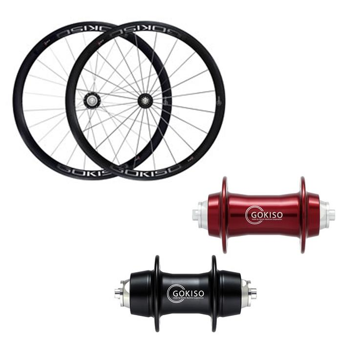 GOKISO (ゴキソ) GD2 ロード用 クリンチャー カンパ用 ホイールセット 38mm【自転車】【ロードバイク】
