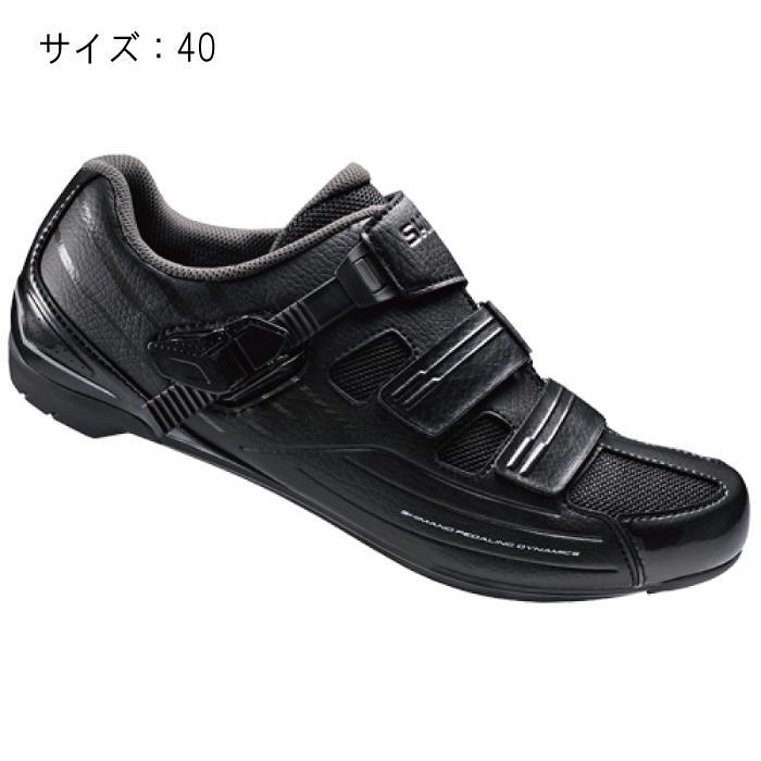 SHIMANO (シマノ) RP300MLE ブラック サイズ40 (25.2cm) シューズ