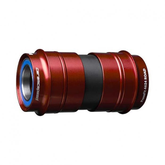 CERAMIC SPEED (セラミックスピード) Press-fit BB4624 COATED BB 24mm レッド 【自転車】