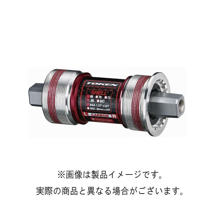 TOKEN (トーケン) TK8671TBT ISO/カンパ BB 68-111 クロモリ軸 ボトムブラケット