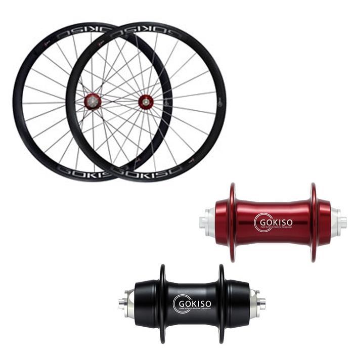 GOKISO (ゴキソ) ロード用 クリンチャー カンパ用 ホイールセット 38mm【自転車】【ロードバイク】