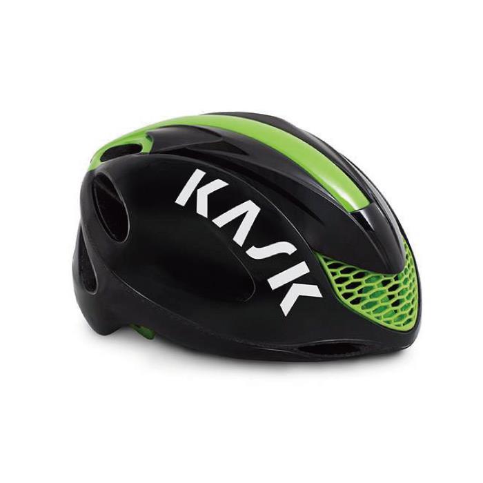 KASK(カスク) INFINITY インフィニティ ブラック/ライム サイズL ヘルメット 【自転車】