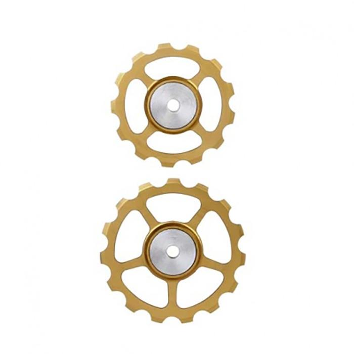 BERNER(バーナー)セラミックプーリー SET 13T-15T GOLD 【自転車】