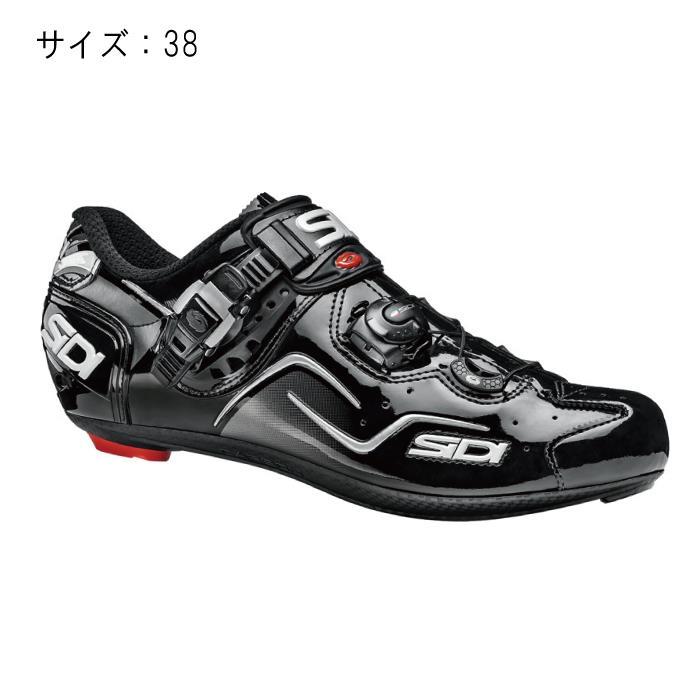 SIDI(シディ) KAOS ブラック/ブラック サイズ38 ビンディングシューズ