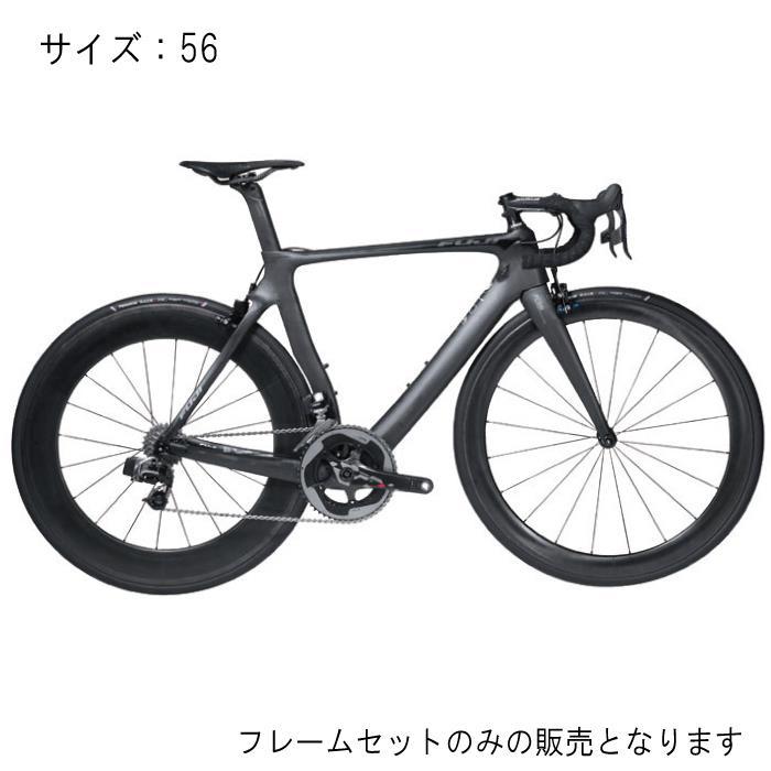FUJI(フジ) 2017モデル TRANSONIC ELITE AVANTGARDE BLACK サイズ56 フレームセット 【自転車】