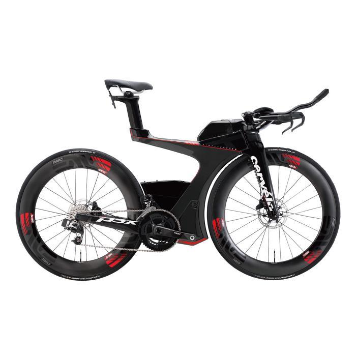 Cervelo(サーベロ/サーヴェロ) P5X e-Tap ブラック/レッド サイズ56 完成車 【自転車】