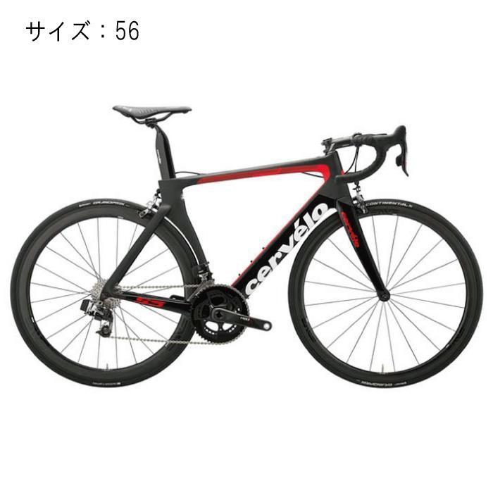 Cervelo(サーベロ) 2018モデル S5 Sram eTAP ブラック/レッド サイズ56(179-184cm)ロードバイク