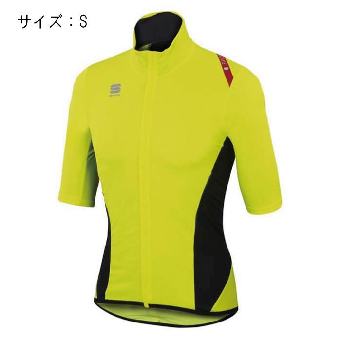 Sportful (スポーツフル) FIANDRE LIGHT NORAIN Short Sleeves イエロー サイズS ジャージ 【自転車】
