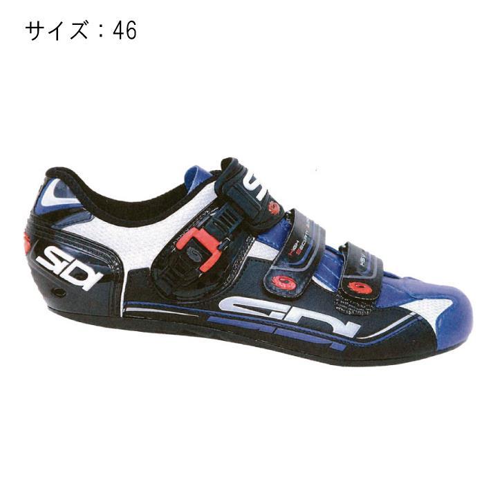 SIDI(シディ) GENIUS 7 ホワイト/ブルー サイズ46 ビンディングシューズ