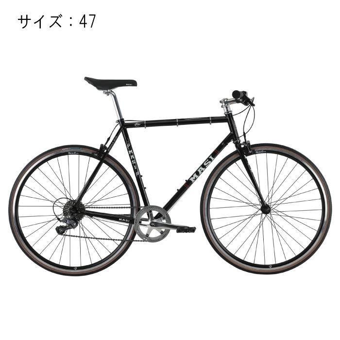 MASI (マジ)SPECIALE OTTO スペシャーレオットー グロスブラック サイズ47 完成車 【自転車】