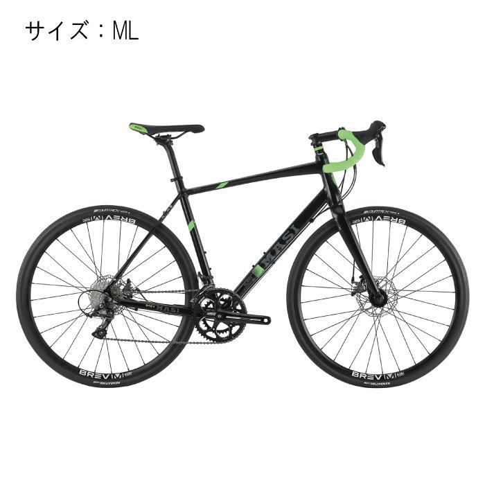 MASI (マジ)ALARE DISC アラーレディスク ブラック/ライム サイズML 完成車 【自転車】