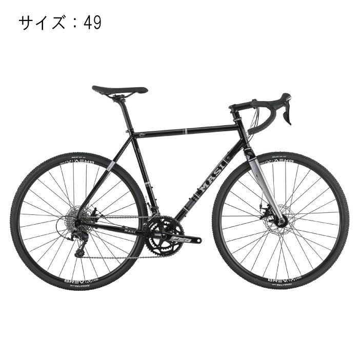 MASI (マジ)CXGR グロスブラック サイズ49 完成車 【自転車】