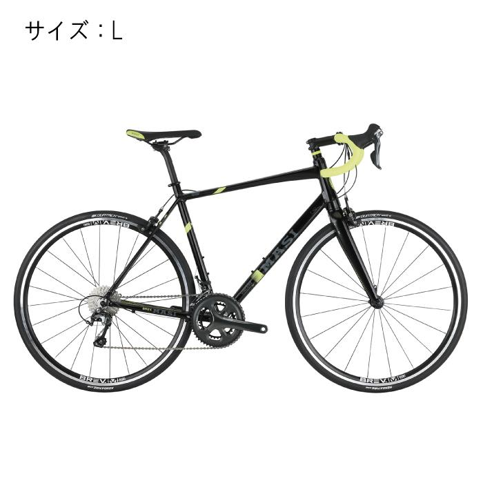 MASI (マジ)VINCERE ヴィンチェレ ブラック/フルオイエロー サイズL 完成車 【自転車】
