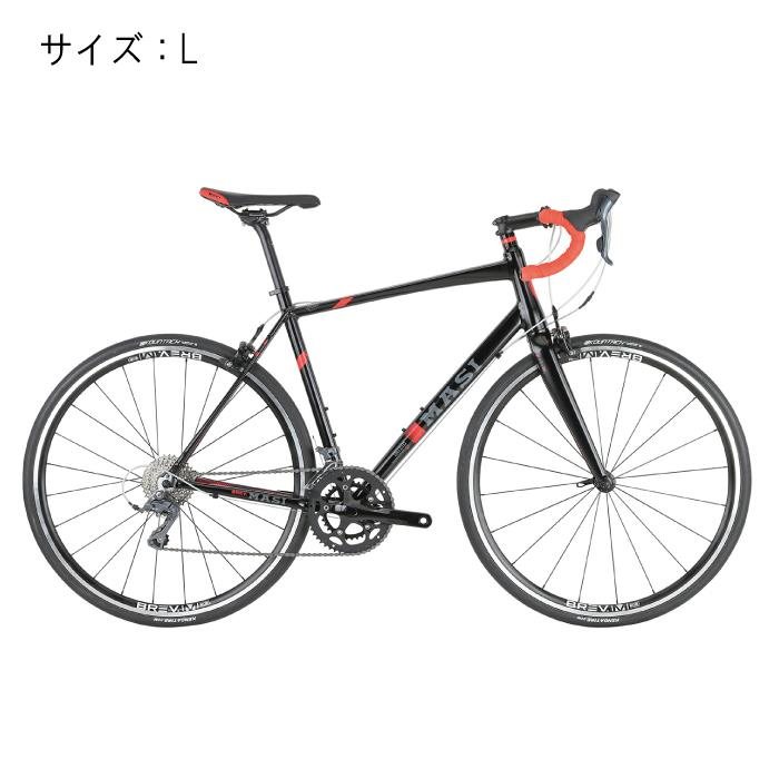 MASI (マジ)INIZIO イニーツィオ  ブラック/Roarange サイズL 完成車 【自転車】