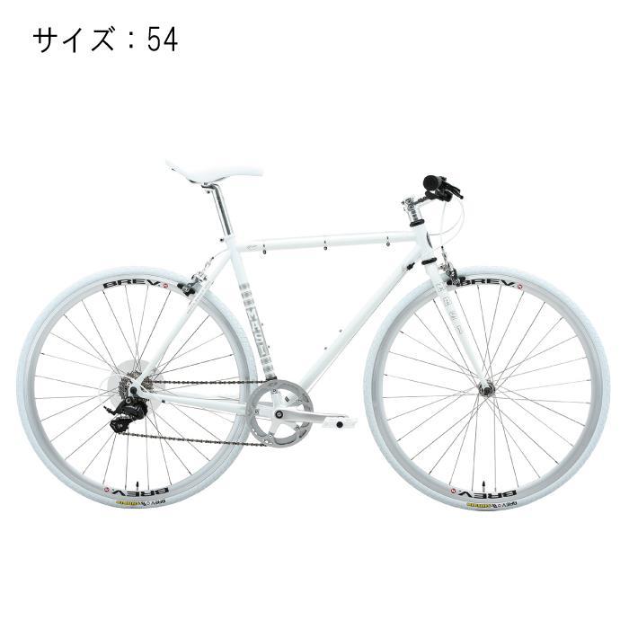 MASI (マジ)CAFFE RACER カフェレーサー UNO RISER ウノライザー ホワイト サイズ54 完成車 【自転車】