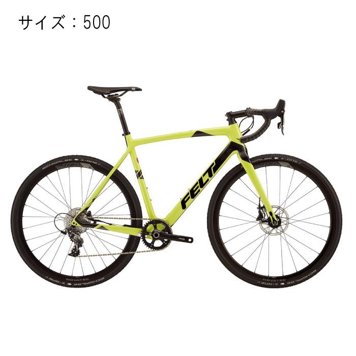 FELT (フェルト) 2017モデル F4X ピスタチオ サイズ500mm 完成車 【自転車】