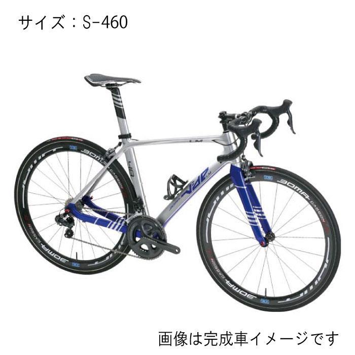 BOMA(ボーマ) VIDE LM LUMIERE CT-LMヴァイド ルミエール シルバーブルー サイズS-460 フレームセット 【自転車】