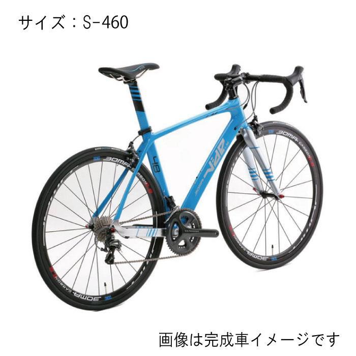 BOMA(ボーマ) VIDE LM LUMIERE CT-LMヴァイド ルミエール アクアブルー サイズS-460 フレームセット 【自転車】