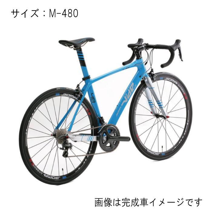 BOMA(ボーマ) VIDE LM LUMIERE CT-LMヴァイド ルミエール アクアブルー サイズM-480 フレームセット 【自転車】