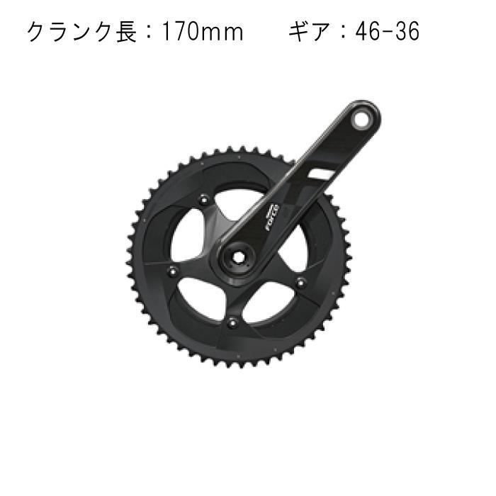 SRAM (スラム) Force22 BB30 170mm 46-36T クランク 【自転車】
