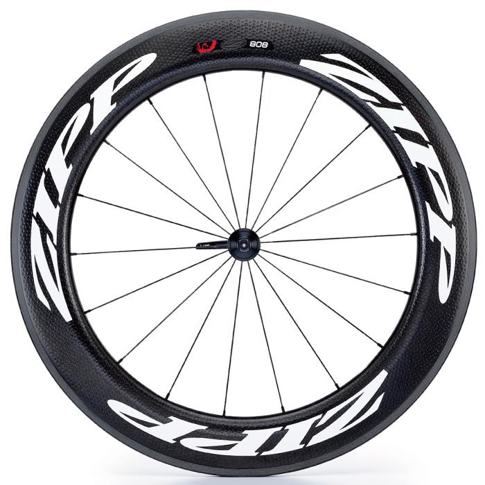 ZIPP(ジップ) 808 Firecrest ファイアクレスト チューブラー ホワイトロゴ フロント用ホイール 【自転車】