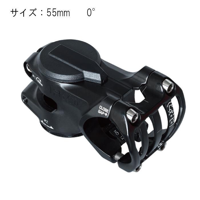 SHIMANO PRO (シマノプロ) Tharsis Trail タルシストレイル 55mm 0°ステム 【自転車】