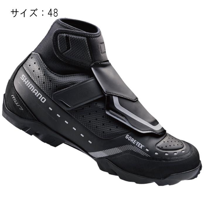 SHIMANO (シマノ) MW700L ブラック サイズ48 (30.5cm) シューズ