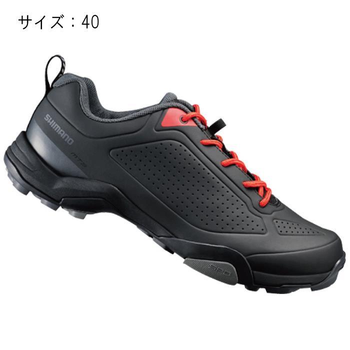 SHIMANO (シマノ) MT300ML ブラック サイズ40 (25.2cm) シューズ