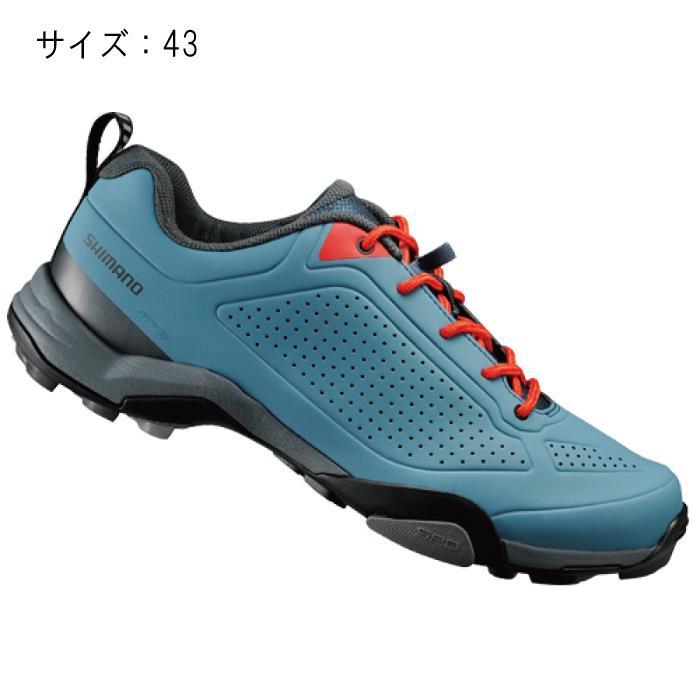 SHIMANO (シマノ) MT300MB ブルー サイズ43 (27.2cm) シューズ
