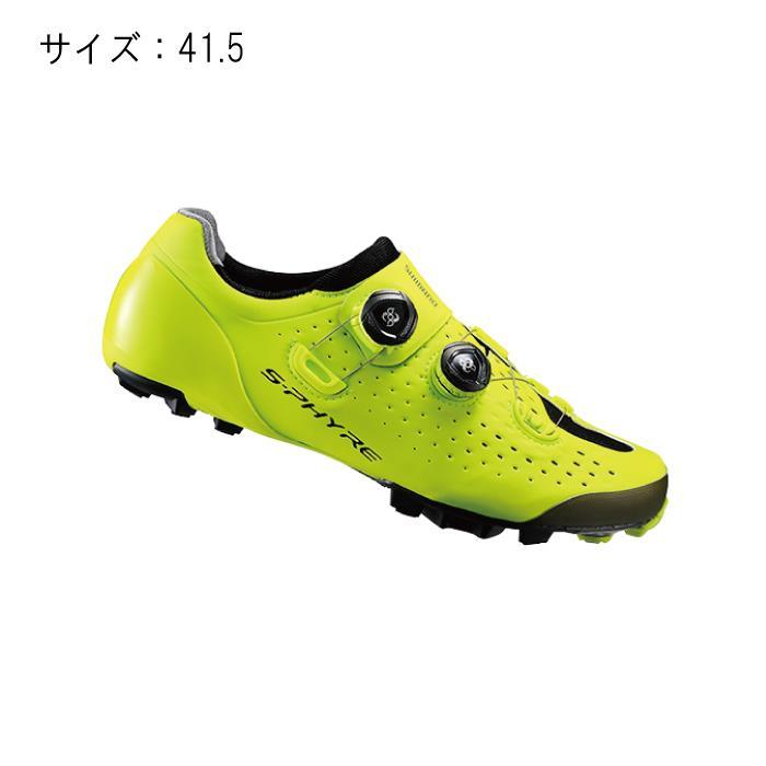 SHIMANO (シマノ) XC900Y イエロー サイズ41.5(26.2cm) シューズ