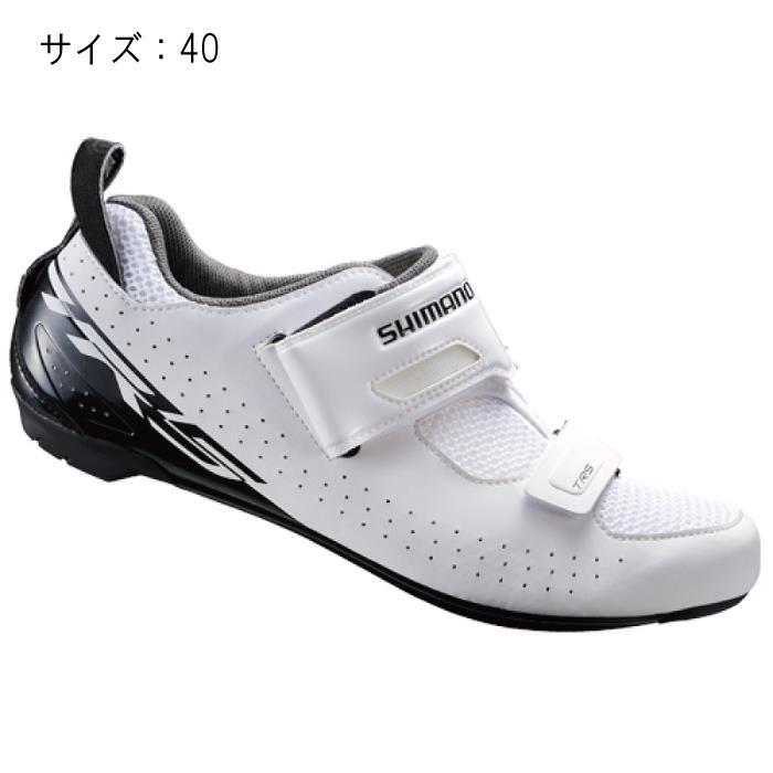 SHIMANO (シマノ) TR500MW ホワイト サイズ40 (25.2cm) シューズ