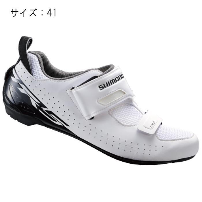 SHIMANO (シマノ) TR500MW ホワイト サイズ41 (25.8cm) シューズ