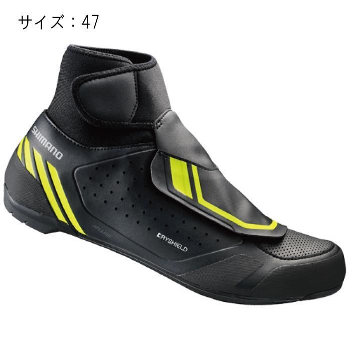SHIMANO (シマノ) RW500L ブラック サイズ47 (29.8cm) シューズ