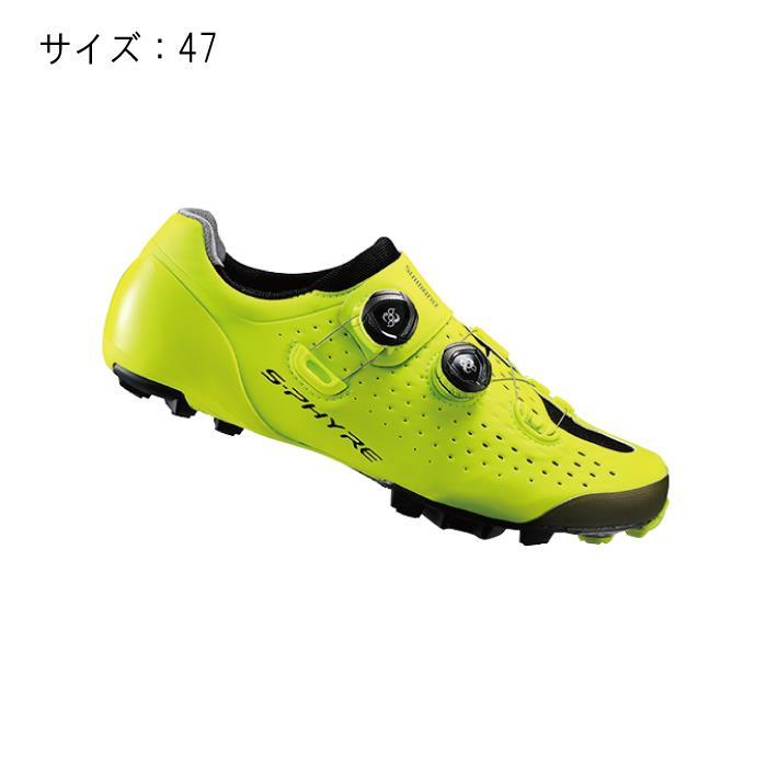 SHIMANO (シマノ) XC900Y イエロー サイズ47 (29.8cm) シューズ