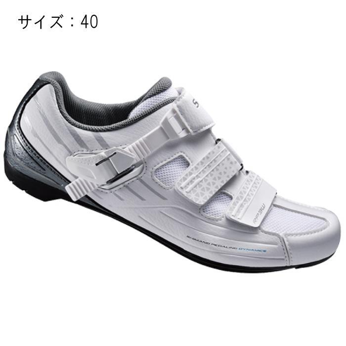 SHIMANO (シマノ) RP300WW ホワイト サイズ40 (25.2cm) シューズ