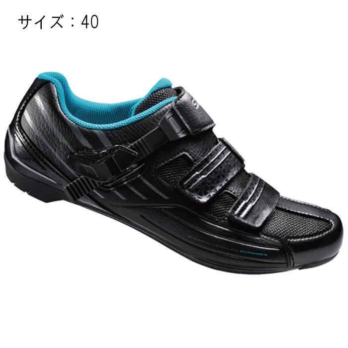 SHIMANO (シマノ) RP300WL ブラック サイズ40 (25.2cm) シューズ