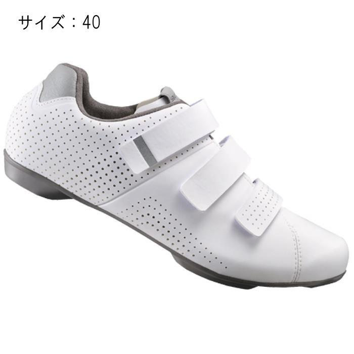 SHIMANO (シマノ) RT500WW ホワイト サイズ40 (25.2cm) シューズ