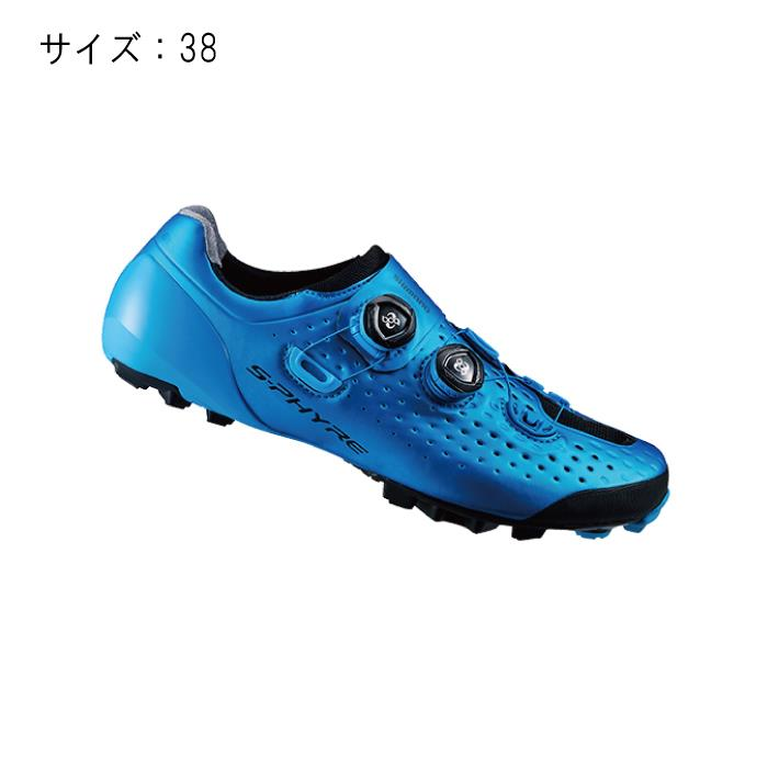 SHIMANO (シマノ) XC900B ブルー サイズ38 (23.8cm) シューズ
