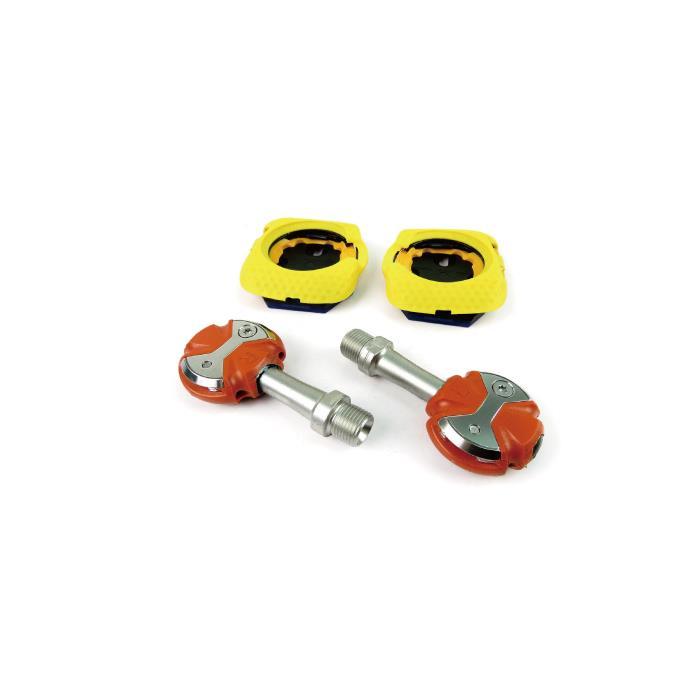 SPEEDPLAY(スピードプレイ) ZERO ゼロ ステンレス ウォーカブルクリート オレンジ ビンディングペダル