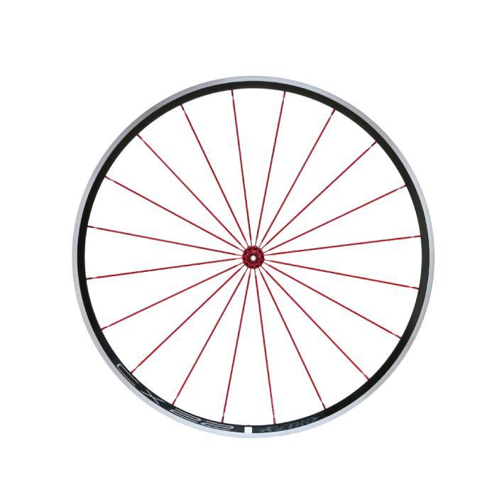 Avedio (エヴァディオ) CX22 レッド ホイールセット 【自転車】