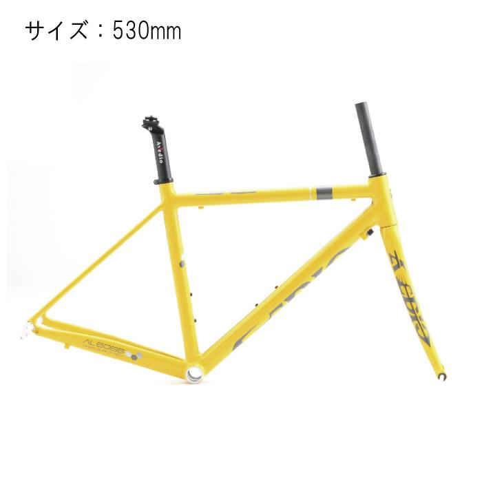 Avedio (エヴァディオ) BACCHUS バッカス SL サイズ530 イエロー フレームセット 【自転車】