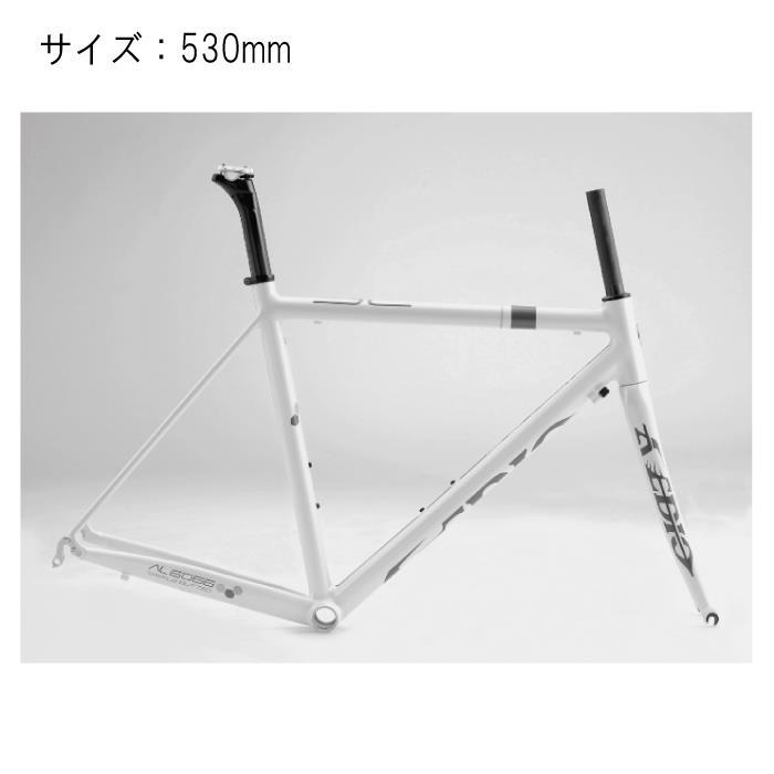 Avedio (エヴァディオ) BACCHUS バッカス SL サイズ530 パールホワイト フレームセット 【自転車】
