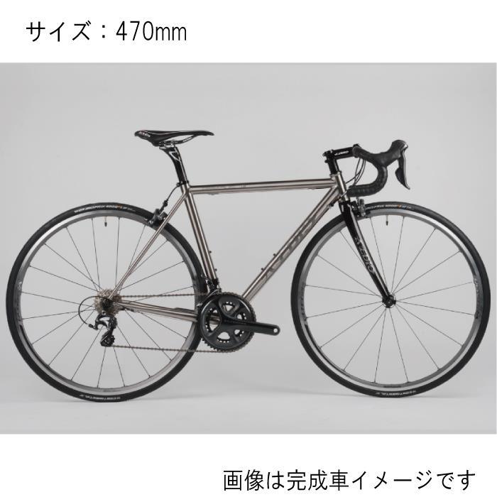 Avedio (エヴァディオ) PEGASUS ペガサス サイズ470 サンドブラスト フレームセット 【自転車】