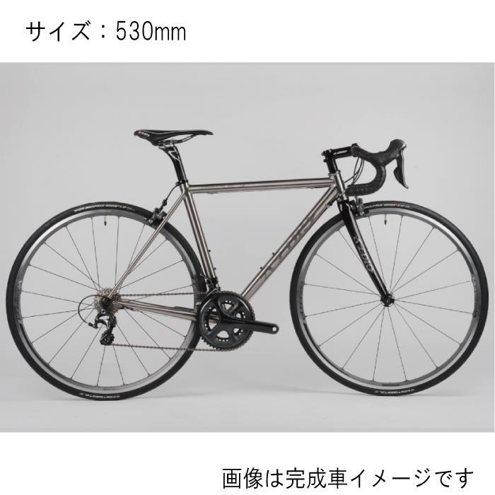 Avedio (エヴァディオ) PEGASUS ペガサス サイズ530 サンドブラスト フレームセット 【自転車】