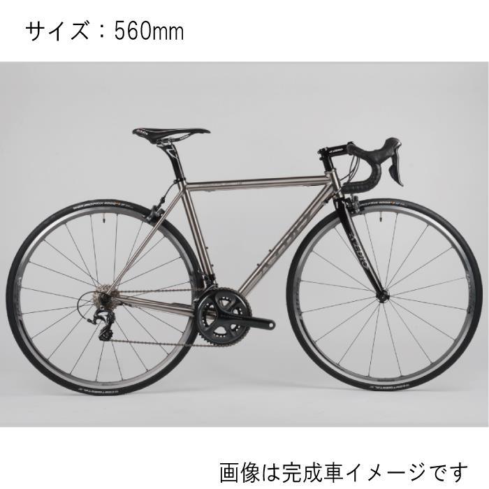 Avedio (エヴァディオ) PEGASUS ペガサス サイズ560 サンドブラスト フレームセット 【自転車】