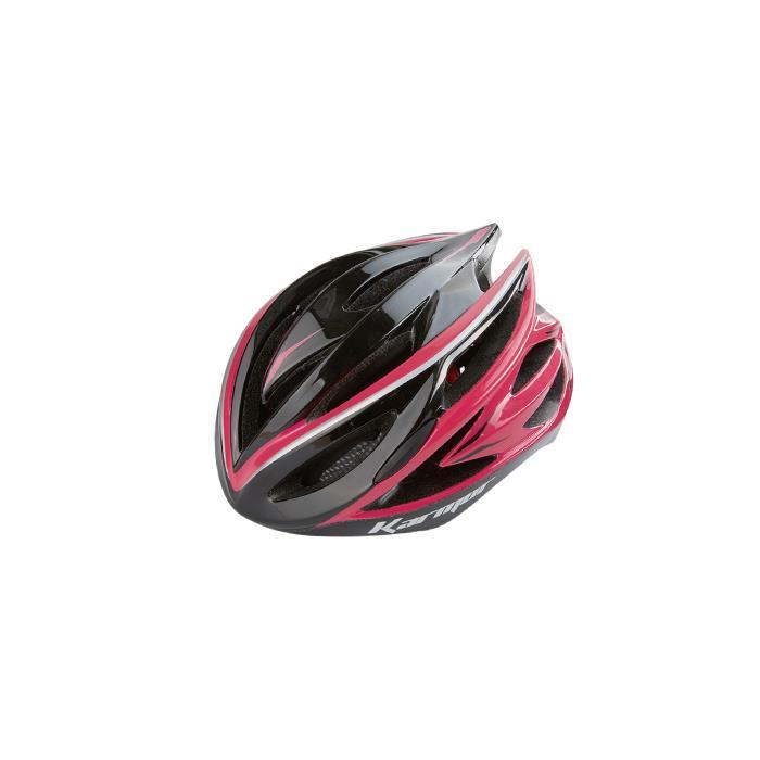 Karmor(カーマー)ASMA2 アスマ2 ブラック/ピンク サイズL ヘルメット 【自転車】